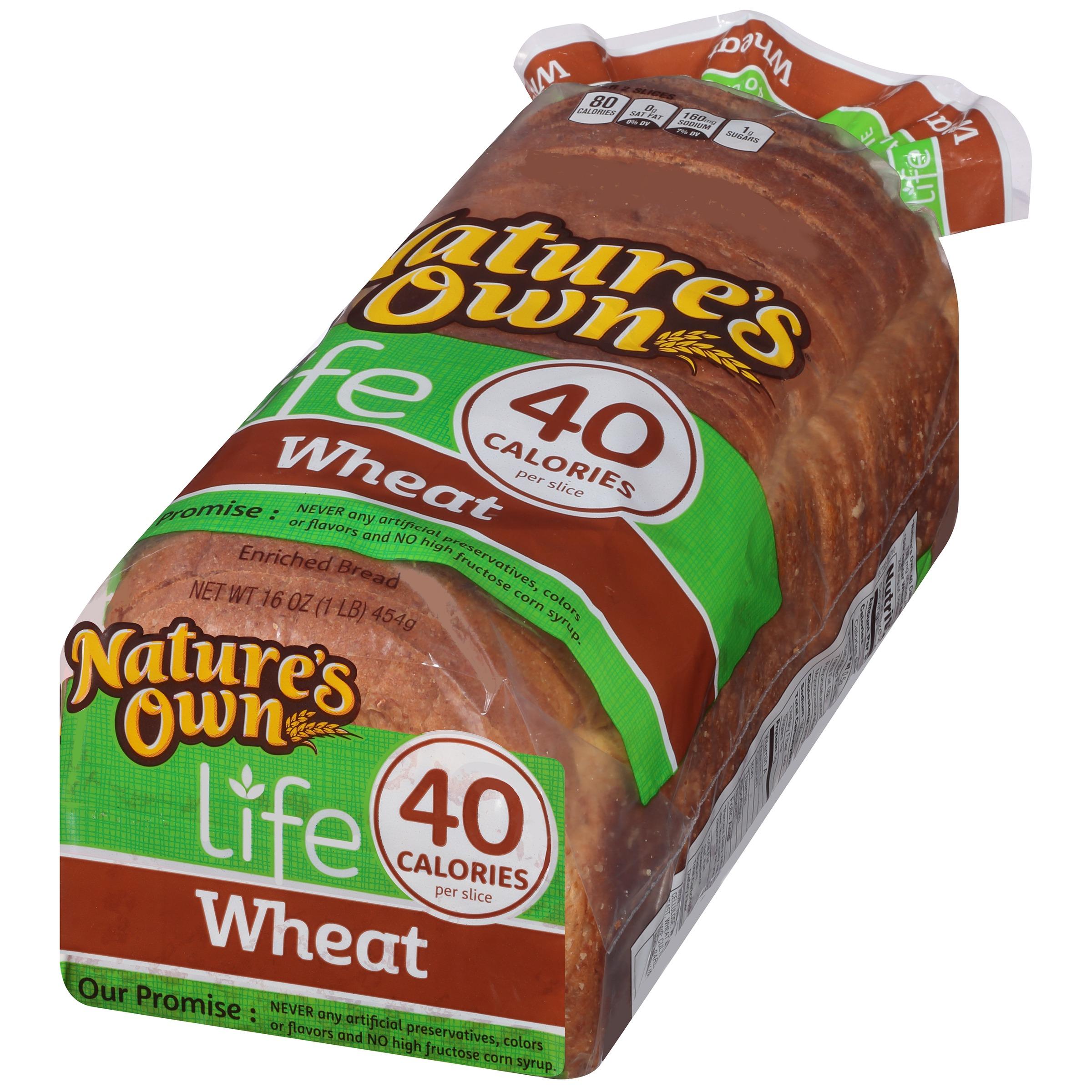 Life 40 Calorie Wheat Bread 16 oz. Bag