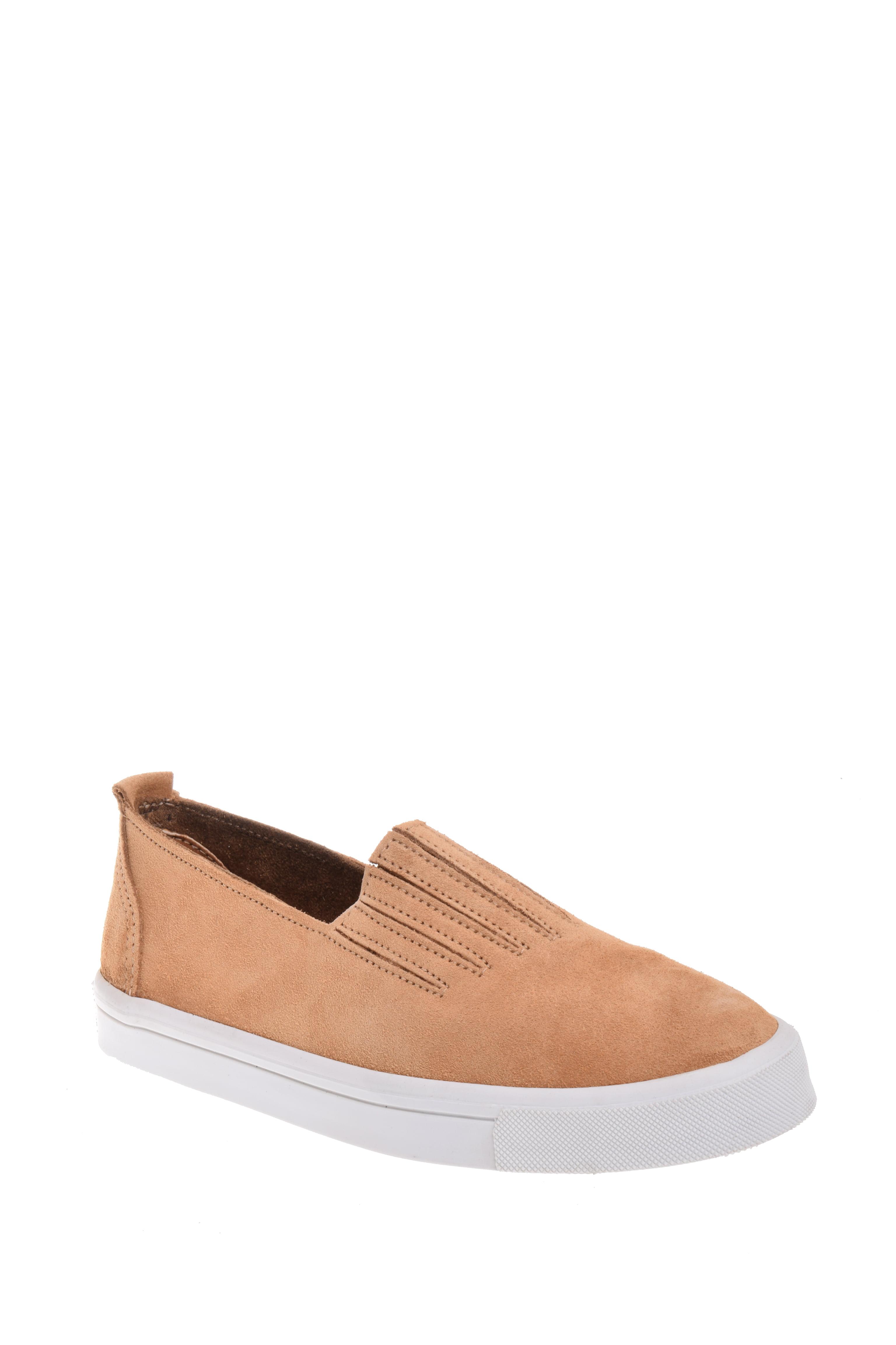 Minnetonka Gabi Slip-On Sneaker Taupe by