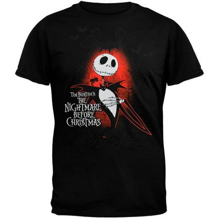 nightmare before christmas jack skellington tee shirt](Jack Skellington Shirt)
