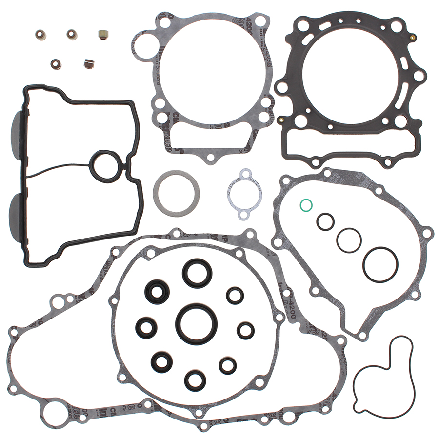 New Winderosa Gasket Set with Oil Seals for Yamaha WR400F