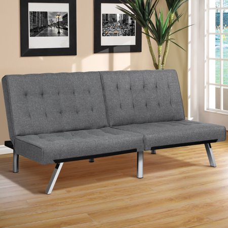 Best Choice Products Modern Futon Sofa Bed Fold Up Down Couch Recliner
