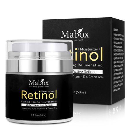 Retinol Moisturizer Cream For Face and Eye Area 1.7 Oz With Retinol Hyaluronic A