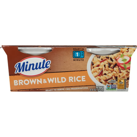 Serve Meals - Minute Ready to Serve Brown and Wild Rice, 8.8-Ounce Serving