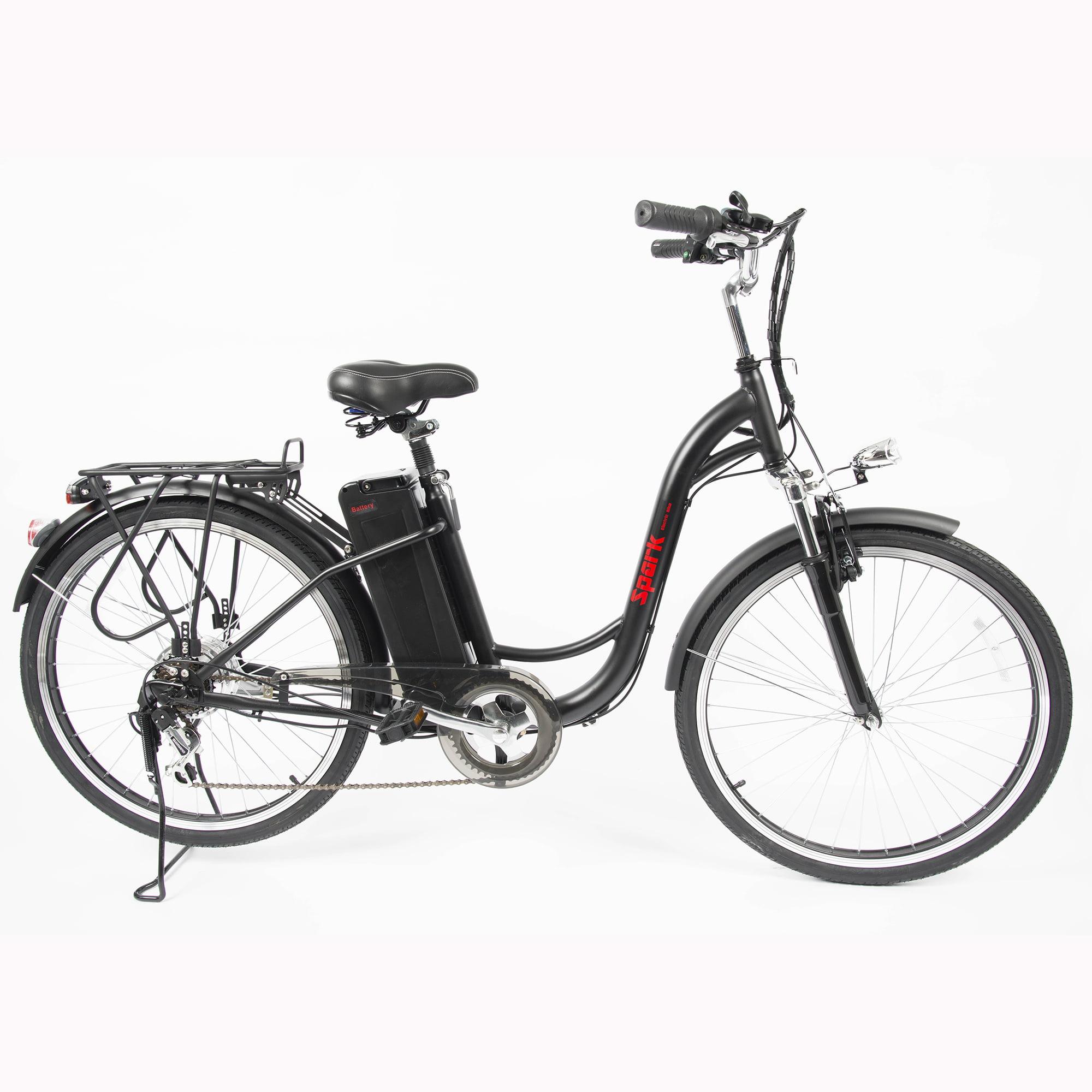 Black Spark Ebike For Women