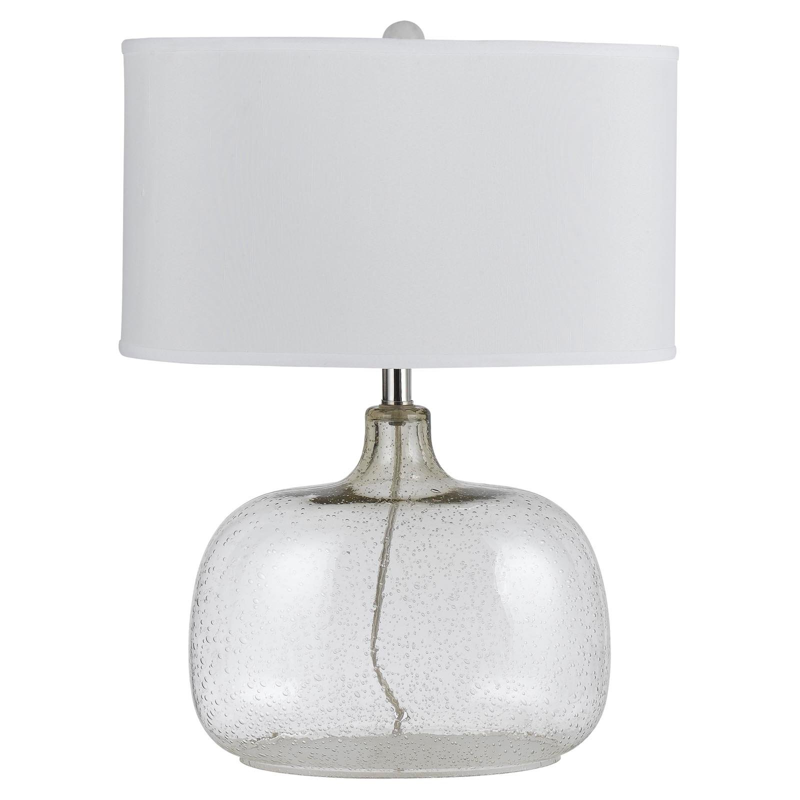 Cal Lighting BO-2262TB Christi Clear Glass Table Lamp by CAL Lighting