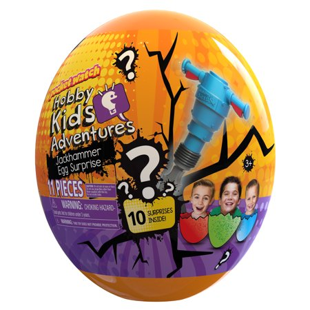 HobbyKids Jackhammer Egg Surprise