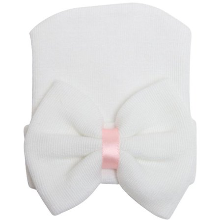 2019 Hot Sale Unisex Baby Hats Big Knotted Bow Baby Hat Cotton Multiple