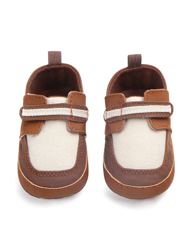 Funcee Soft Bottom Cotton Baby Boy Anti-slip Shoes First Walkers Spring Autumn