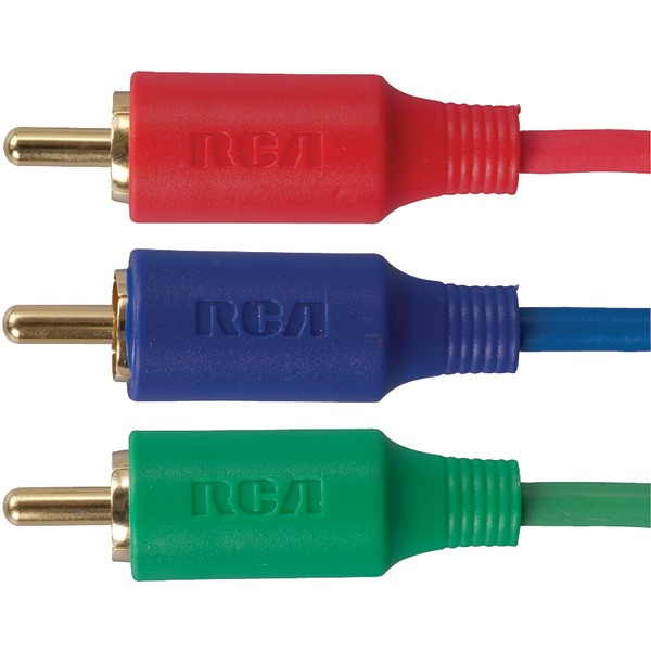 RCA VHC61R VH Series Component Video Cable, 6 ft