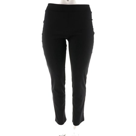 Women with Control Ponte di Roma Slim Leg Pants A258876