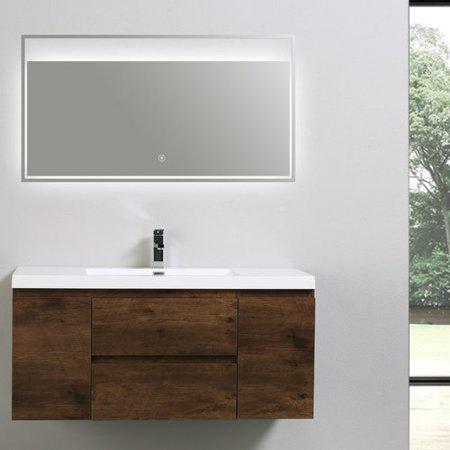 Admirable Morenobath Mob 47 Single Bathroom Vanity Set Home Interior And Landscaping Ologienasavecom