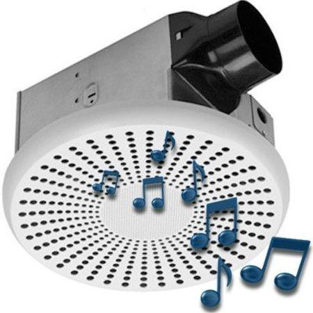 Stupendous Homewerks Worldwide 7130 03 Bt Bluetooth Bath Fan Speaker Download Free Architecture Designs Viewormadebymaigaardcom