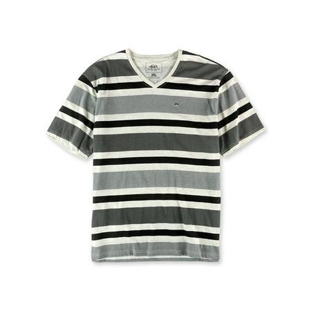 Ecko Unltd. Mens Tonal Stripe Better Embellished T-Shirt