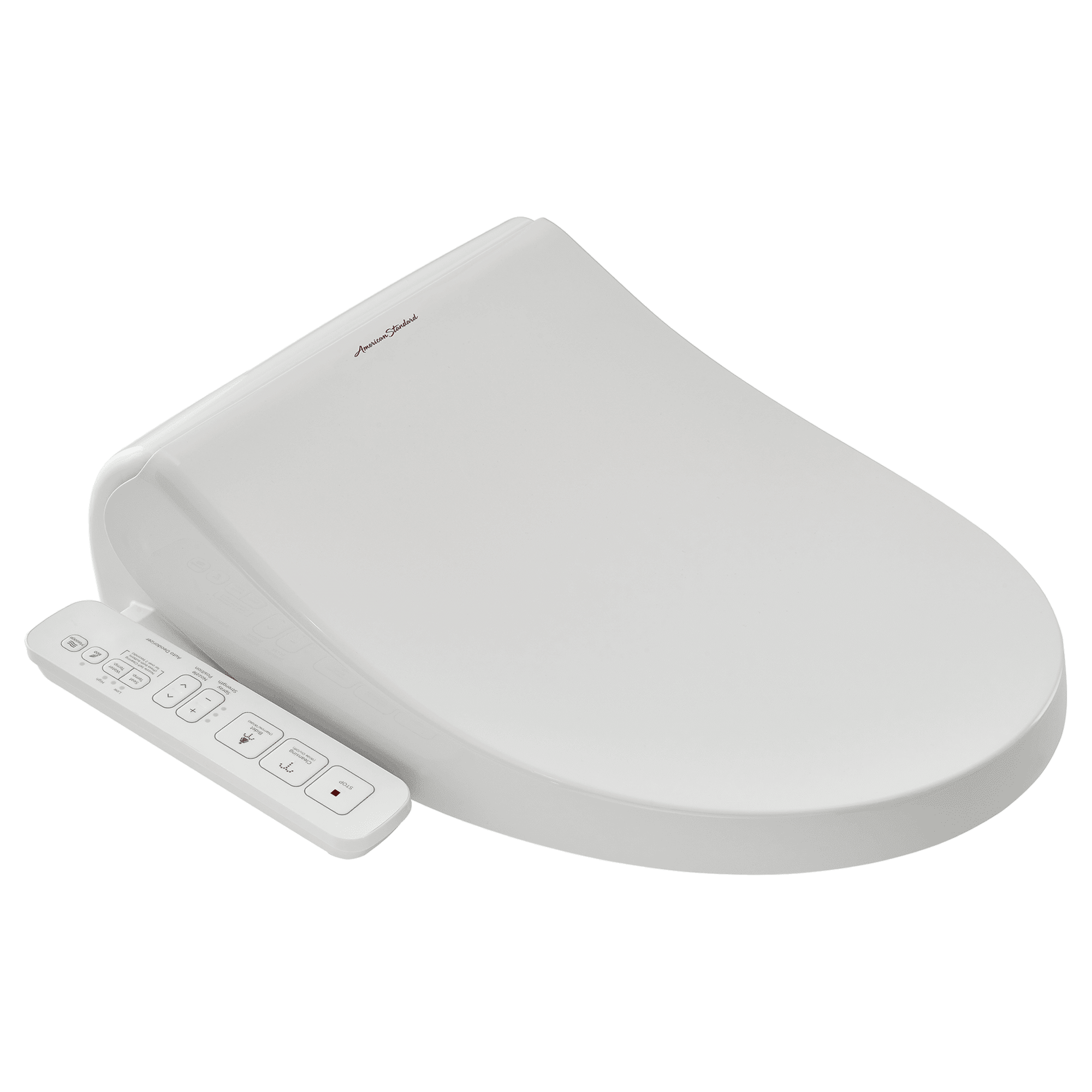 American Standard Advanced Clean AC 1.0 SpaLet Bidet Seat with Side Panel Operation in White