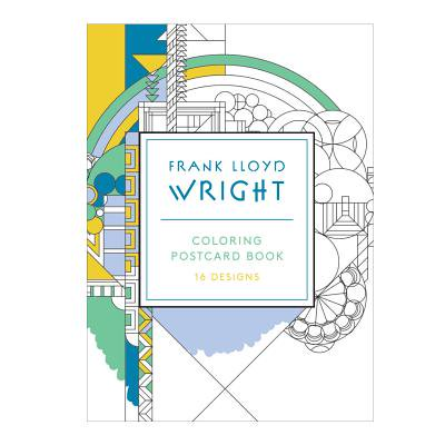 Frank Lloyd Wright Coloring Postcards (Postcards Hobby)