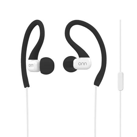 f22adcba182 Onn Sports Headphones - Black/Grey - Walmart.com