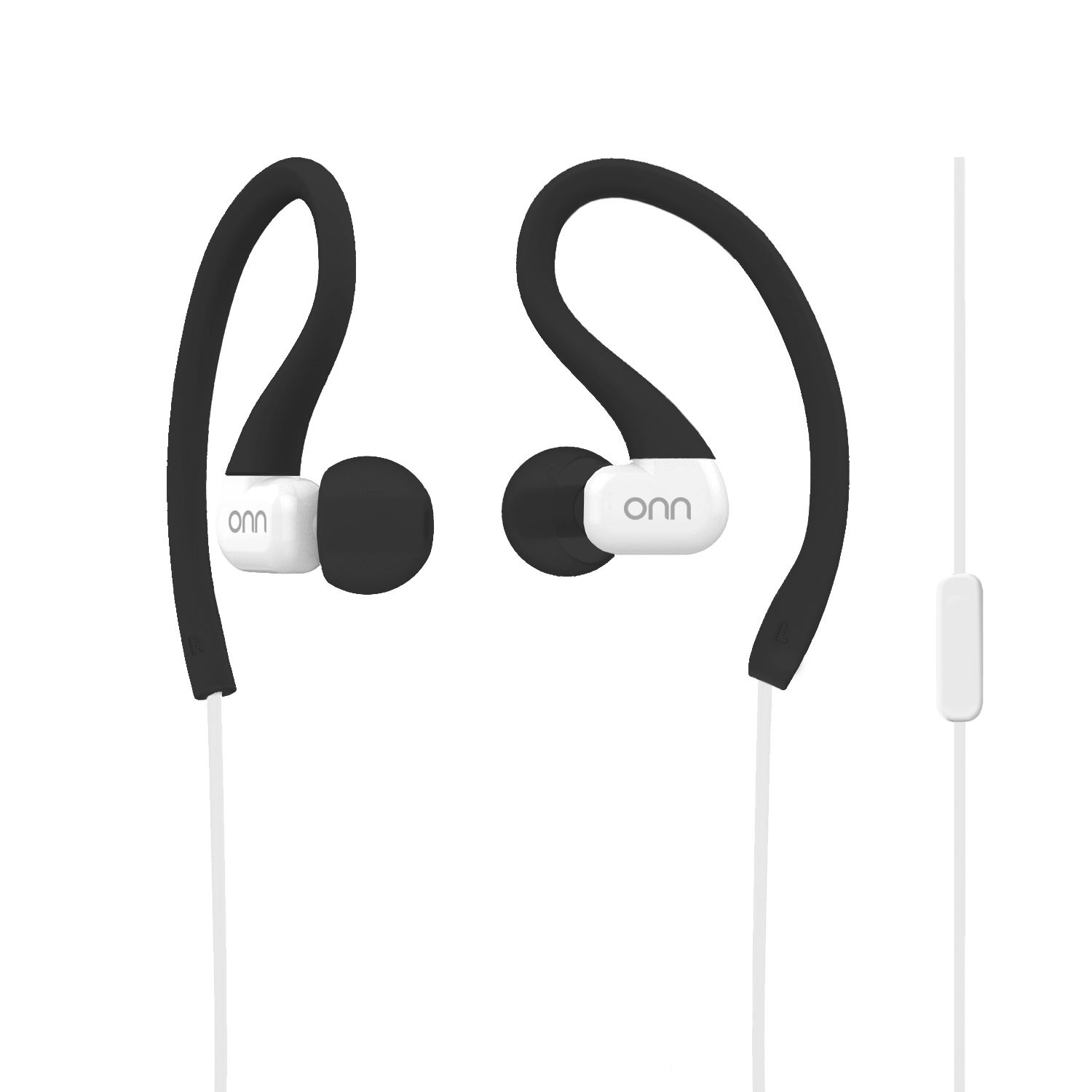 Onn by Walmart Sports Headphones - Black/grey