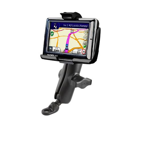 RAM HEAVY DUTY 9MM FLAT BASE BIKE MOTORCYCLE MOUNT HOLDER FOR GPS GARMIN NUVI 1690