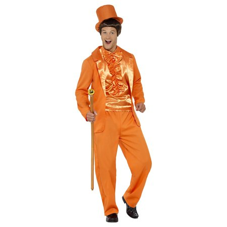 Stupid Tuxedo Adult Costume Orange - Large - Tuxedo Costume Women