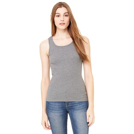 Bella + Canvas Women's slim fit Cotton 2x1 Rib Tank Top 4000
