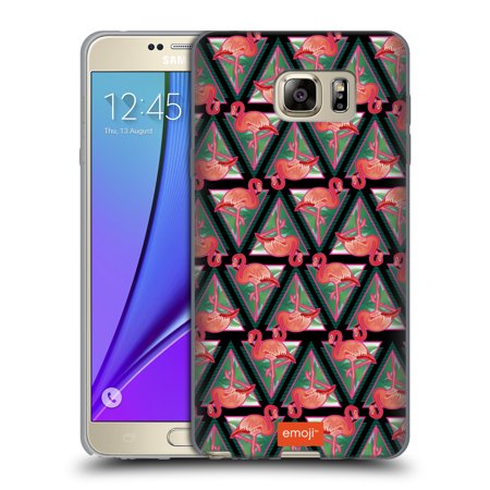 OFFICIAL EMOJI FLAMINGOS SOFT GEL CASE FOR SAMSUNG PHONES 2