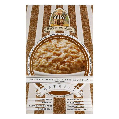 Bakery On Main Maple Multigrain Muffin Instant Oatmeal  10 56 Oz  Pack Of 6