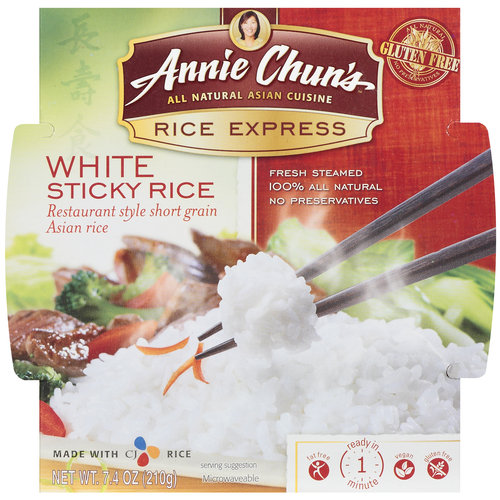 Annie Chun's Rice Express White Sticky Rice, 7.4 oz