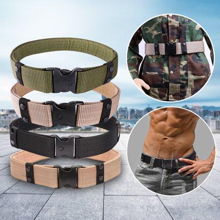 Police Utility Belts (Elfeland Adjustable Survival Tactical EMT Security Police SWAT Duty Utility Belt Black)