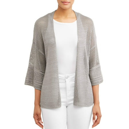 - Women's Loose Sleeve Open Cardigan