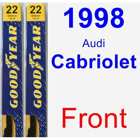 1998 Audi Cabriolet Wiper Blade Set/Kit (Front) (2 Blades) - Premium - Walmart.com