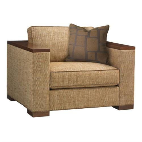 Tommy Bahama Island Fusion Fuji Fabric Chair in Beige