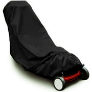 """75"""" x 20"""" x 39"""" Universal Waterproof Lawn Mower Cover Protecter Outdoor Storage"""