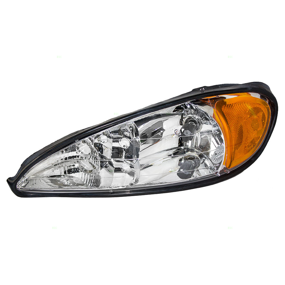 Drivers Headlight Headlamp Replacement for Pontiac 22672207