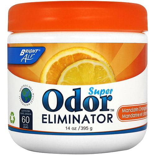 Bright Air 14oz. Super Odor Eliminator, Mandarin Orange & Fresh Lemon