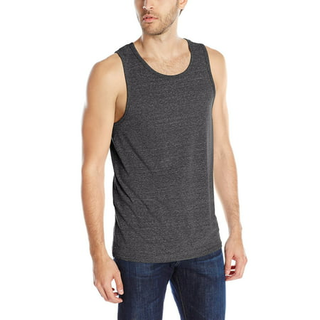 Men's Slim Fit Ultra Soft Cotton Active Comfort Tri-Blend Tank Top