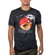 Angry Birds angry words Big Men's burnout graphic tee, 2xl