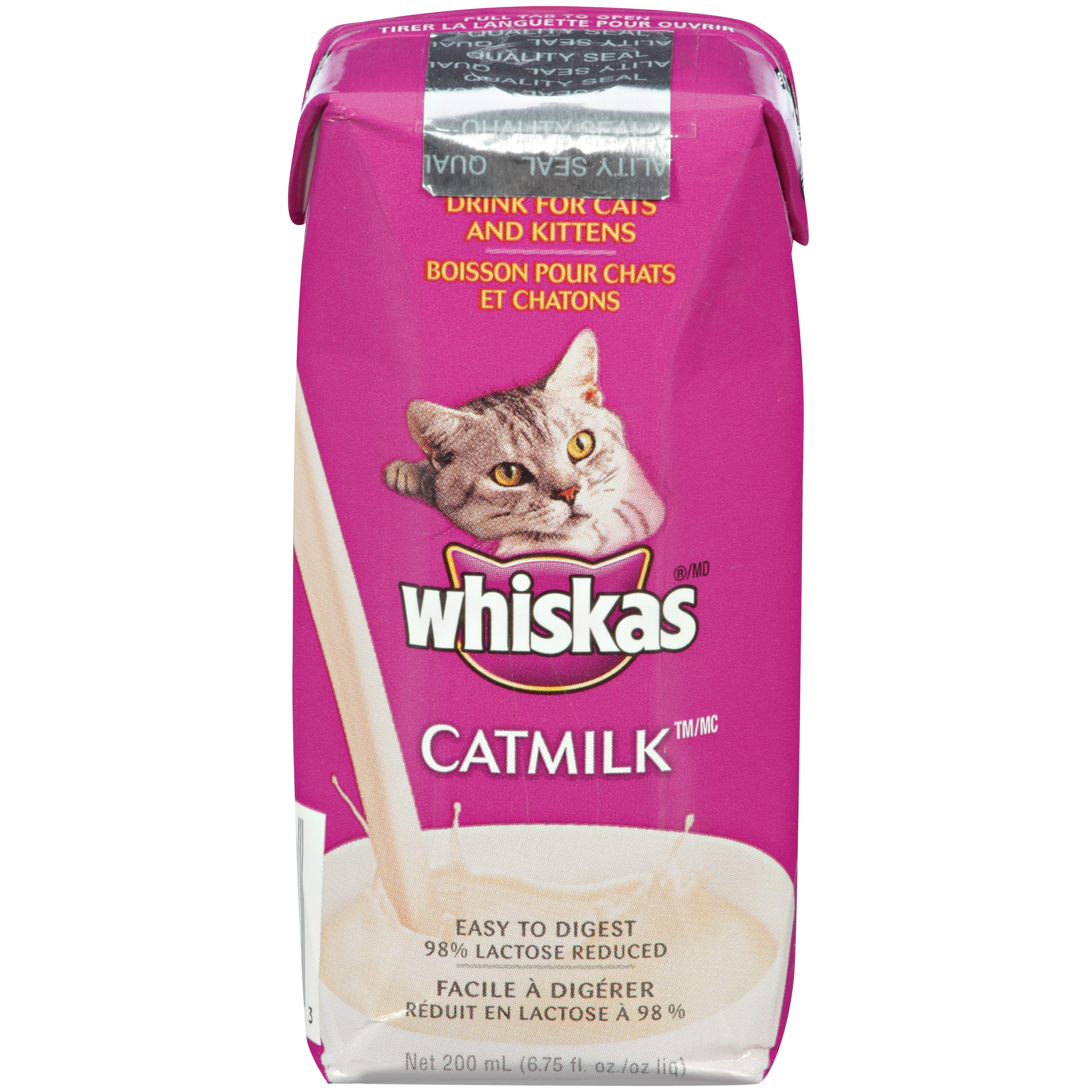 Whiskas 3 Count Milk Plus Drinks Box For Cats, 6.75 Oz (3 Ct.)