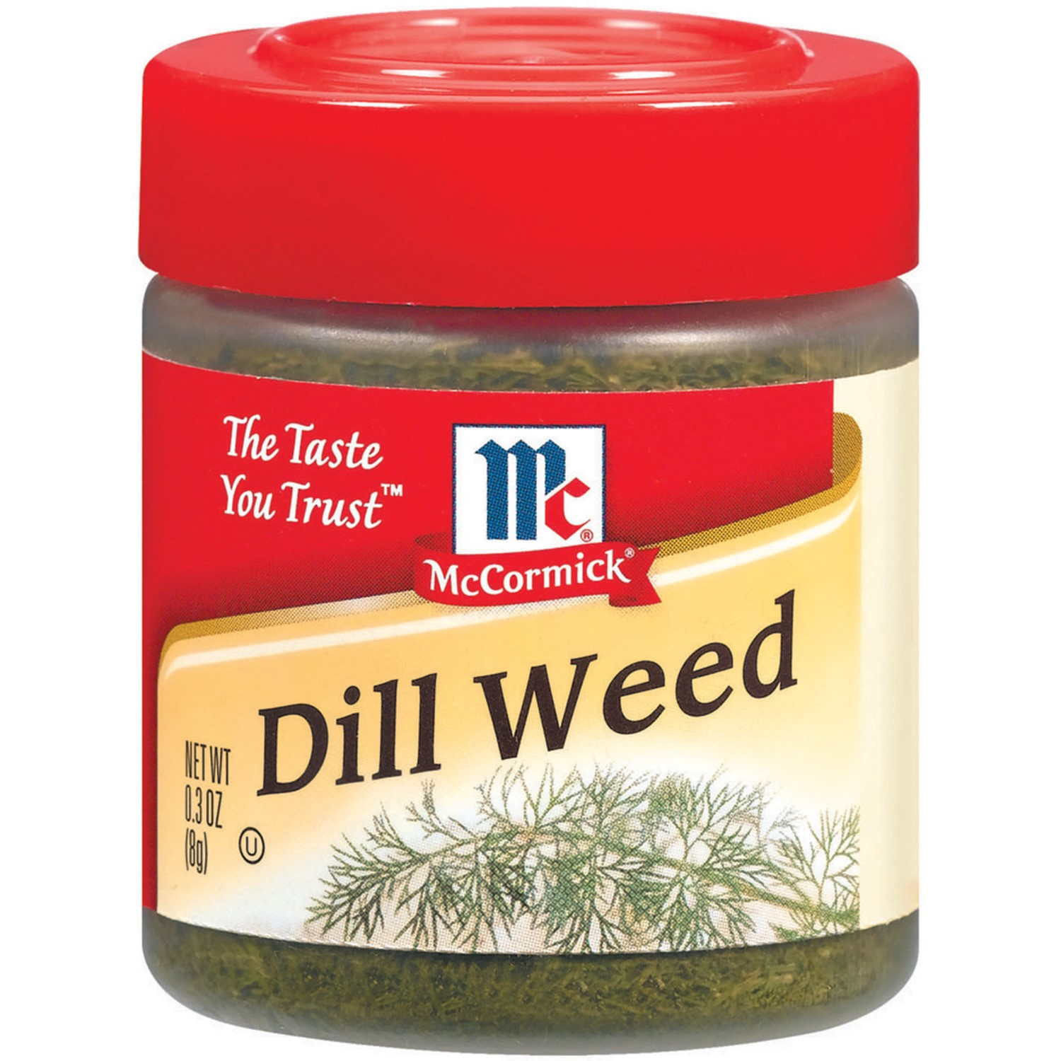 (2 Pack) McCormick Dill Weed, 0.3 Oz