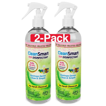 CleanSmart 16 oz Toy Disinfectant,2-pack - Great for Child Care Centers