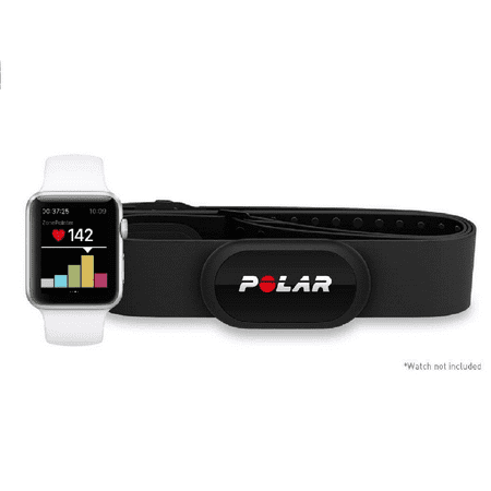 Polar H10 Heart Rate Monitor, Bluetooth HRM Chest Strap - Medium-XXL
