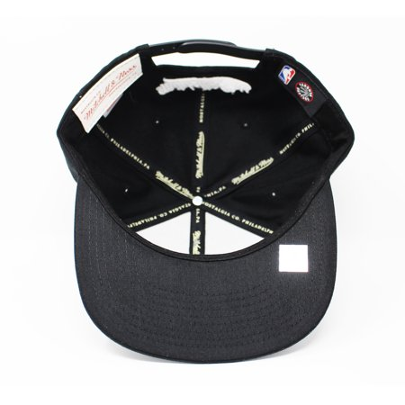 Mitchell and Ness Toronto Raptors Dark Hologram Black Snapback Hat - image 2 of 5