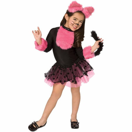 Cutie Cat Child Halloween Costume](Cat Whiskers Costume)