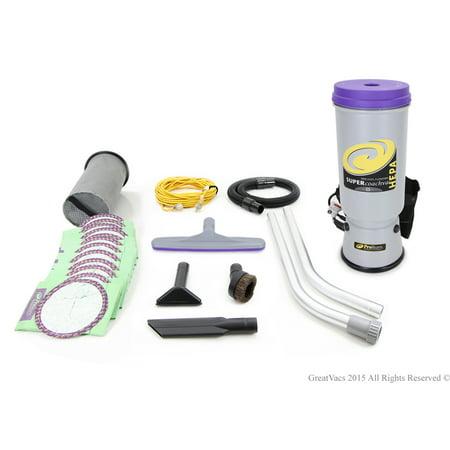 Proteam Super CoachVac 10 QT Backpack Vacuum