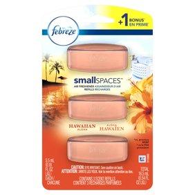Febreze Small Spaces Linen & Sky Air Freshener Refills 0.54 fl. oz ...