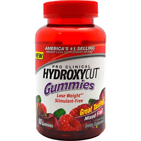 Gélifiés Hydroxycut MuscleTech, Fruits mélangés 60 gélifiés