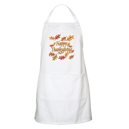 CafePress - Happy Thanksgiving Apron - Kitchen Apron with Pockets, Grilling Apron, Baking Apron