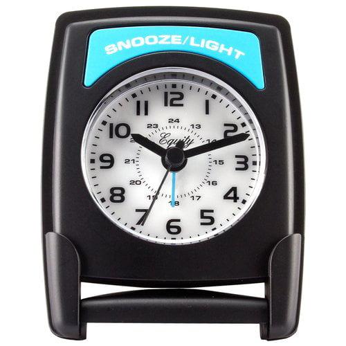 Equity by La Crosse 20085 Quartz Fold-Up Travel Alarm Clock by La Crosse Technology, Ltd.