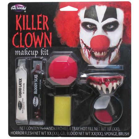 Killer Clown Horror Character Kit](Clowns At Halloween Horror Nights)
