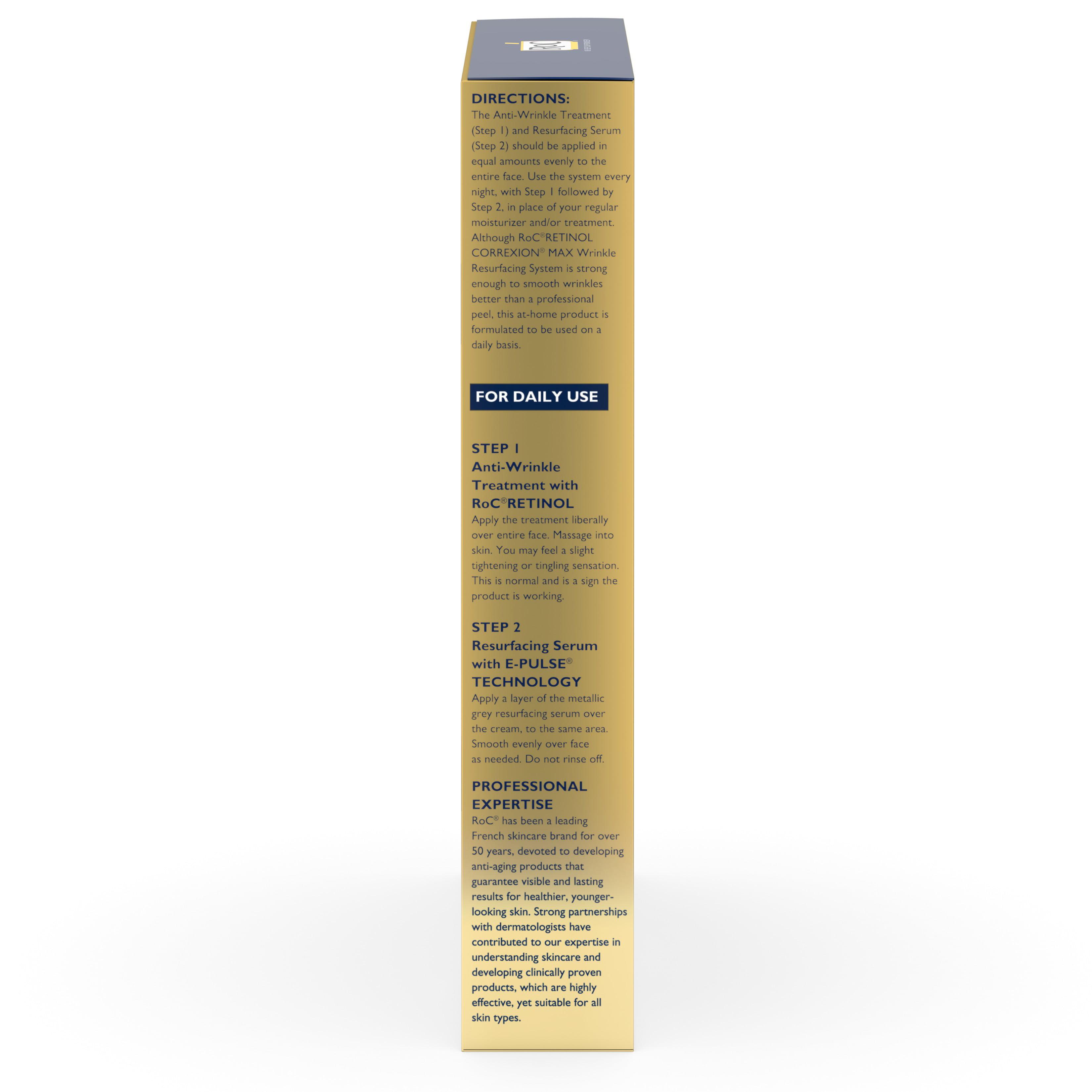 Retinol amounts in moisturizers - Roc Retinol Correxion Max Wrinkle Resurfacing Anti Aging Skin Care System Walmart Com