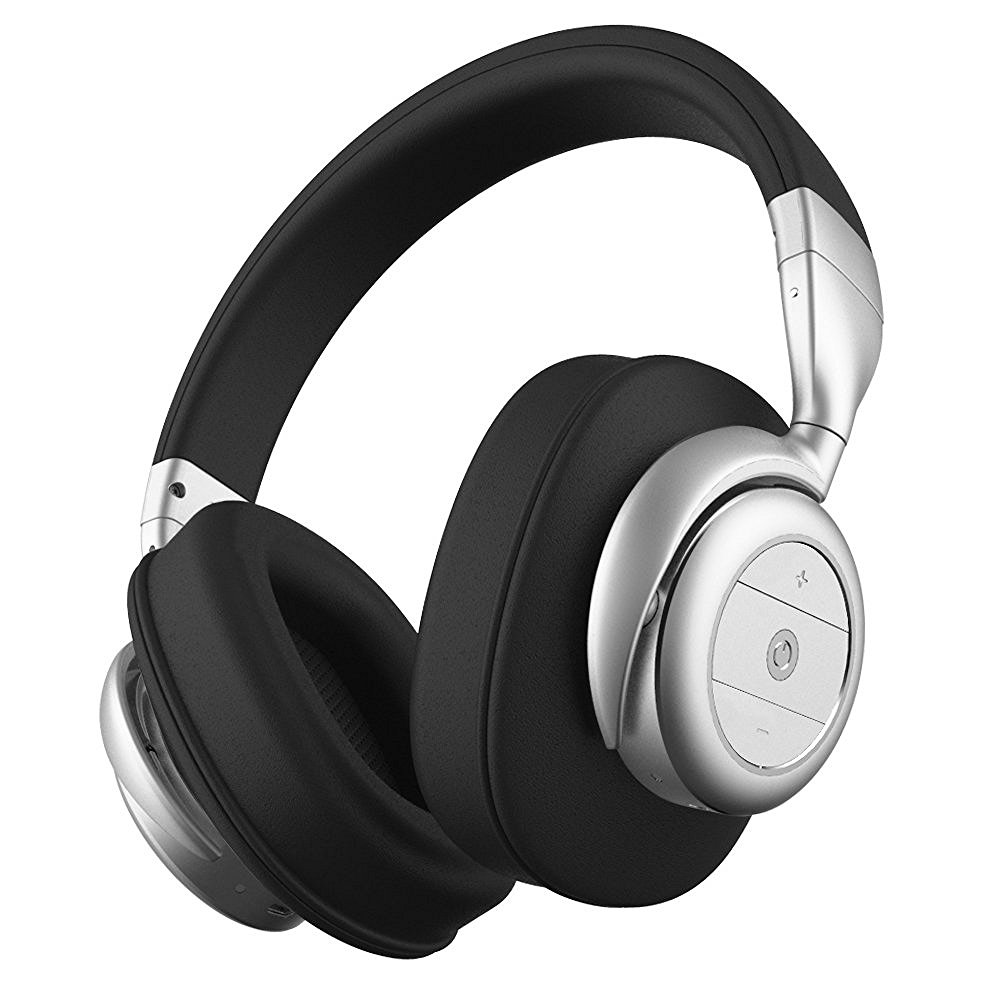 Refurbished BOHM Wireless Bluetooth B76 Headphones with Active Noise Cancelling - Black